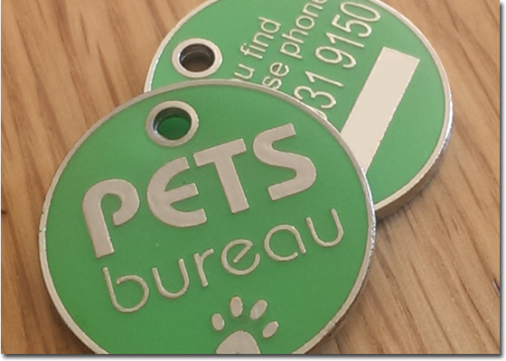 High quality ID Tag comes equipped with unique ID number